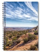 North Of Moab Spiral Notebook