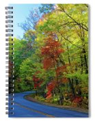 North Of The Folk Art Center In Fall Spiral Notebook