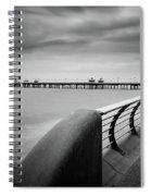 North Pier Blackpool Spiral Notebook