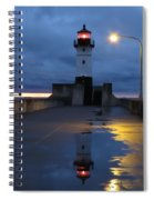 North Pier Reflections Spiral Notebook