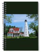 North Point Lighthouse Spiral Notebook
