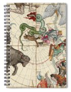 North Pole Spiral Notebook