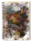 North Rim Of The Grand Canyon Spiral Notebook