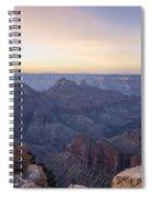 North Rim Sunrise 2 - Grand Canyon National Park - Arizona Spiral Notebook