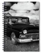 North Rustico Vintage Car Prince Edward Island Spiral Notebook
