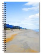 North Sea Beach 3 Spiral Notebook