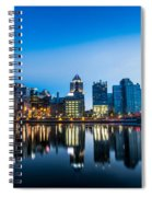 North Shore Evening Spiral Notebook