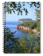 North Shore Lake Superior Spiral Notebook
