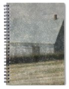 North Shore Snowstorm Spiral Notebook