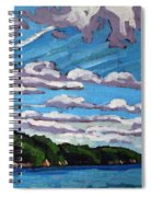North Shore Stratocumulus Streets Spiral Notebook