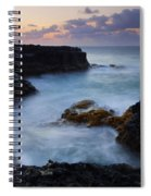 North Shore Tides Spiral Notebook