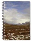 North Slope Dalton Highway Arctic Alaska Spiral Notebook