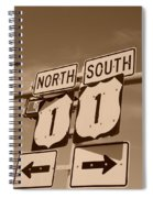 North South 1 Spiral Notebook