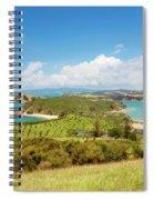 North Tower Viewpoint Rotoroa New Zealand Spiral Notebook