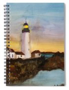 North Truro Light House Cape Cod Spiral Notebook