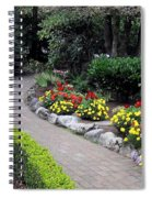 North Vancouver Garden Spiral Notebook
