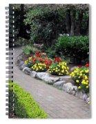 North Vancouver Garden Spiral Notebook