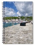 North Wall - Lyme Regis Spiral Notebook