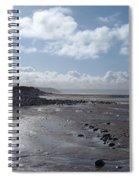 Northam Burrows Beach Spiral Notebook