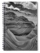 Northern Arizona Desert Swirls Spiral Notebook