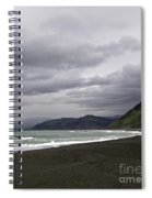 Northern California Beach Spiral Notebook