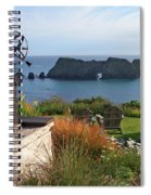 Northern California Coast View Spiral Notebook