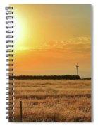 Northern California Sunrise Spiral Notebook
