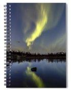 Northern Lights Thingvellir Spiral Notebook