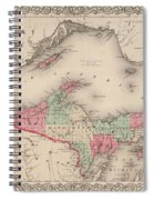 Northern Michigan And Lake Superior Spiral Notebook