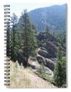 Northern Rockies Missoula  Montana  Spiral Notebook