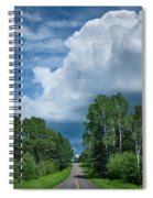 Northwoods Road Trip Spiral Notebook