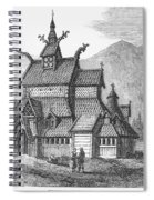 Norway: Borgund Church Spiral Notebook