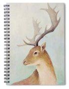 Norway Deer Spiral Notebook