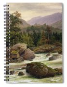 Norwegian Waterfall Spiral Notebook