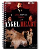 Norwich Terrier Art Canvas Print - Angel Heart Movie Poster Spiral Notebook