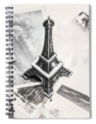 Nostalgia In France Spiral Notebook