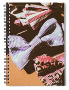 Nostalgia In The Fashion Isle Spiral Notebook