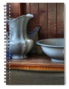 Nostalgia Wash Stand Spiral Notebook
