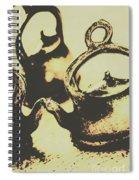 Nostalgic Tea Break Spiral Notebook