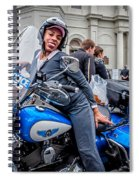 Not-a-cop In Jackson Square Nola Spiral Notebook