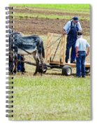 Not A Mule Spiral Notebook