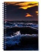 Not A Storm Spiral Notebook