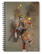 Pow Wow Not Alone Spiral Notebook