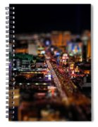 Not Everything Stays In Vegas - Tiltshift Spiral Notebook