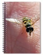 Not Hovering Spiral Notebook