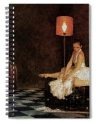 Not In Wonderland Spiral Notebook