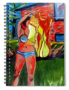 Not Your Grandma's Clothes Line Spiral Notebook