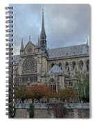 Notre Dame Cathedral In Paris, France Spiral Notebook