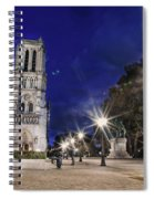 Notre Dame Cathedral Paris 2 Spiral Notebook