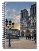 Notre Dame Cathedral Paris 2.0 Spiral Notebook